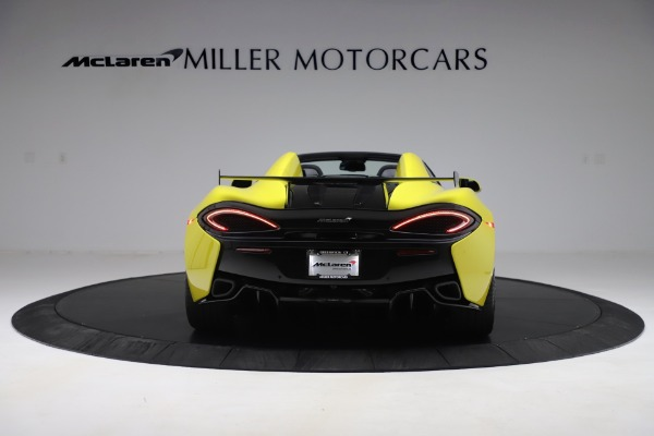 New 2019 McLaren 570S SPIDER Convertible for sale $227,660 at Maserati of Westport in Westport CT 06880 4