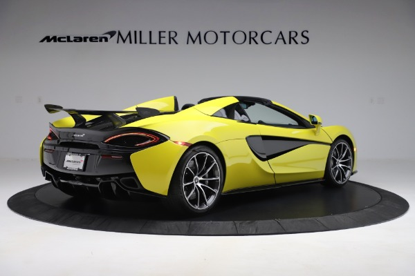 New 2019 McLaren 570S SPIDER Convertible for sale $227,660 at Maserati of Westport in Westport CT 06880 5