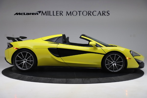 New 2019 McLaren 570S SPIDER Convertible for sale $227,660 at Maserati of Westport in Westport CT 06880 6