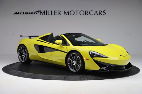 New 2019 McLaren 570S SPIDER Convertible for sale $227,660 at Maserati of Westport in Westport CT 06880 7