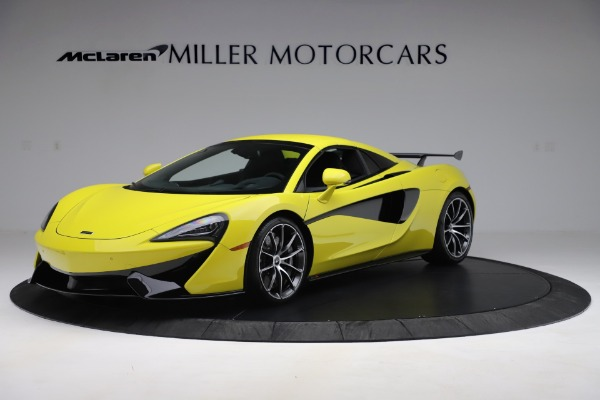New 2019 McLaren 570S SPIDER Convertible for sale $227,660 at Maserati of Westport in Westport CT 06880 9