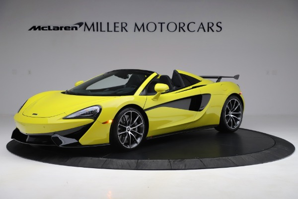 New 2019 McLaren 570S SPIDER Convertible for sale $227,660 at Maserati of Westport in Westport CT 06880 1