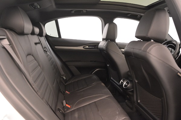New 2019 Alfa Romeo Stelvio Ti Sport Q4 for sale Sold at Maserati of Westport in Westport CT 06880 27