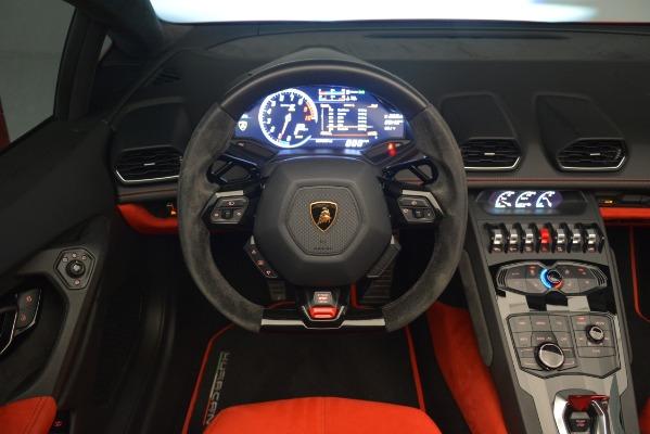 Used 2017 Lamborghini Huracan LP 610-4 Spyder for sale Sold at Maserati of Westport in Westport CT 06880 20