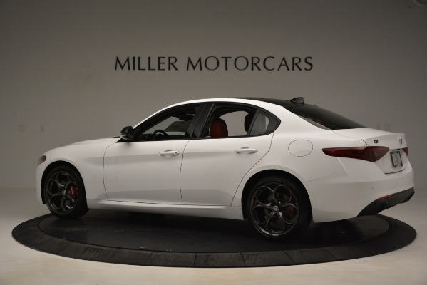 New 2019 Alfa Romeo Giulia Q4 for sale Sold at Maserati of Westport in Westport CT 06880 4