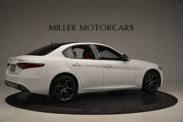 New 2019 Alfa Romeo Giulia Q4 for sale Sold at Maserati of Westport in Westport CT 06880 8