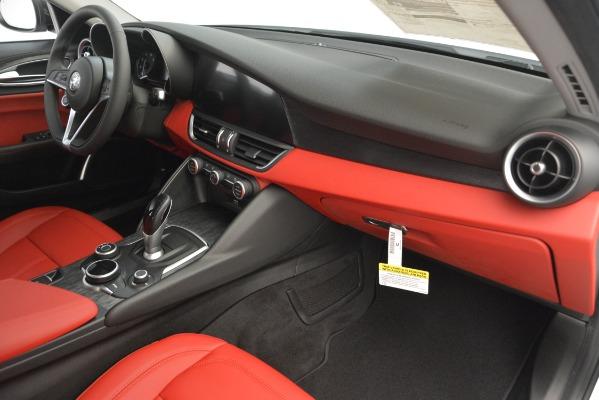 New 2019 Alfa Romeo Giulia Q4 for sale Sold at Maserati of Westport in Westport CT 06880 22