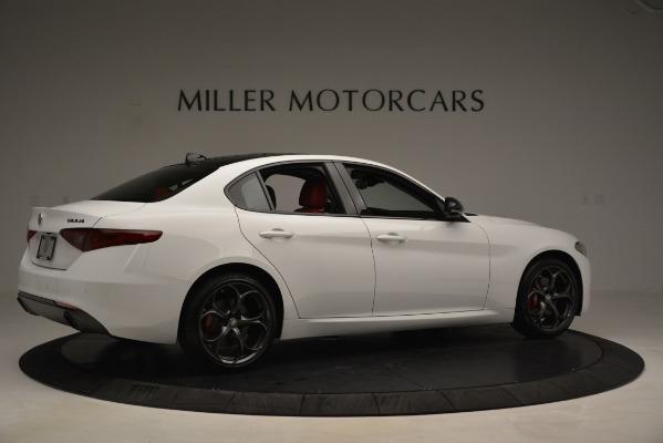 New 2019 Alfa Romeo Giulia Q4 for sale Sold at Maserati of Westport in Westport CT 06880 8