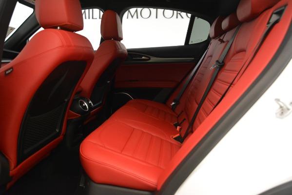 New 2019 Alfa Romeo Stelvio Ti Sport Q4 for sale Sold at Maserati of Westport in Westport CT 06880 19
