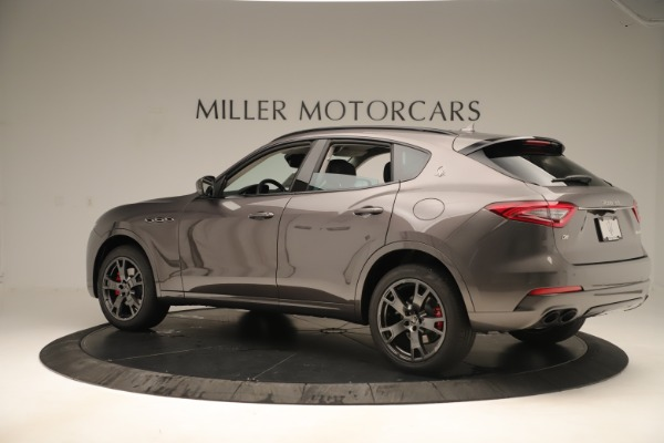 New 2019 Maserati Levante Q4 Nerissimo for sale $89,850 at Maserati of Westport in Westport CT 06880 4