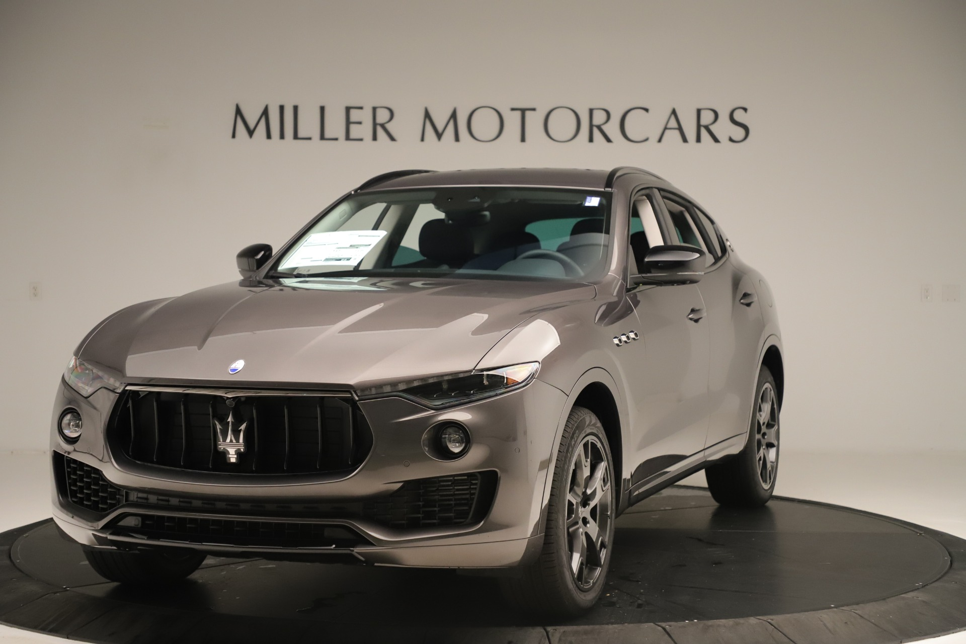 New 2019 Maserati Levante Q4 Nerissimo for sale $89,850 at Maserati of Westport in Westport CT 06880 1