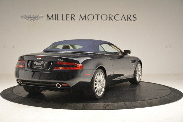 Used 2007 Aston Martin DB9 Convertible for sale Sold at Maserati of Westport in Westport CT 06880 28