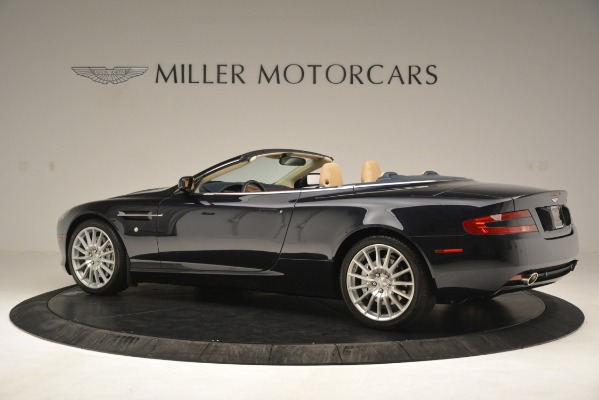 Used 2007 Aston Martin DB9 Convertible for sale Sold at Maserati of Westport in Westport CT 06880 4