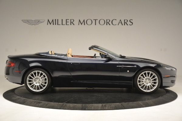 Used 2007 Aston Martin DB9 Convertible for sale Sold at Maserati of Westport in Westport CT 06880 9