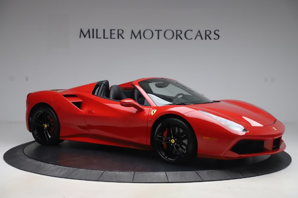Used 2017 Ferrari 488 Spider for sale Sold at Maserati of Westport in Westport CT 06880 10