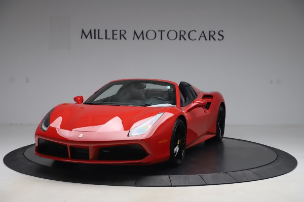 Used 2017 Ferrari 488 Spider for sale Sold at Maserati of Westport in Westport CT 06880 1