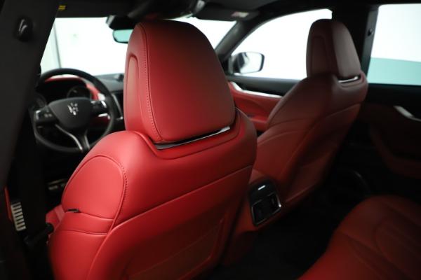 New 2019 Maserati Levante Q4 GranSport Nerissimo for sale Sold at Maserati of Westport in Westport CT 06880 20