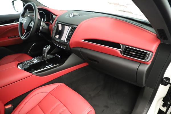 New 2019 Maserati Levante Q4 GranSport Nerissimo for sale Sold at Maserati of Westport in Westport CT 06880 22