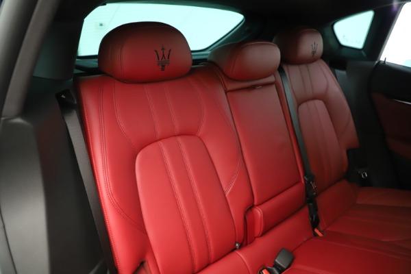 New 2019 Maserati Levante Q4 GranSport Nerissimo for sale Sold at Maserati of Westport in Westport CT 06880 26