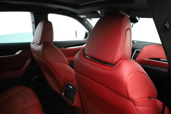 New 2019 Maserati Levante Q4 GranSport Nerissimo for sale Sold at Maserati of Westport in Westport CT 06880 28