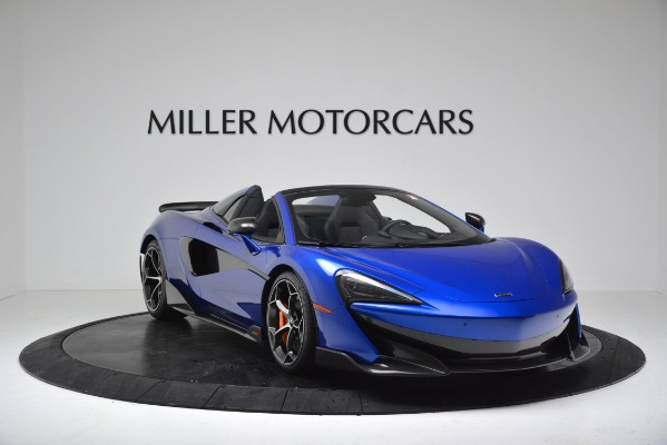 New 2020 McLaren 600LT SPIDER Convertible for sale Sold at Maserati of Westport in Westport CT 06880 11