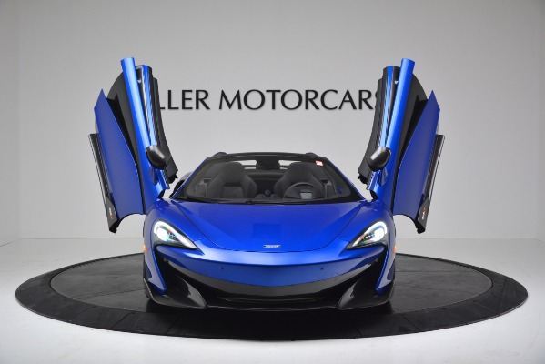 New 2020 McLaren 600LT SPIDER Convertible for sale Sold at Maserati of Westport in Westport CT 06880 18