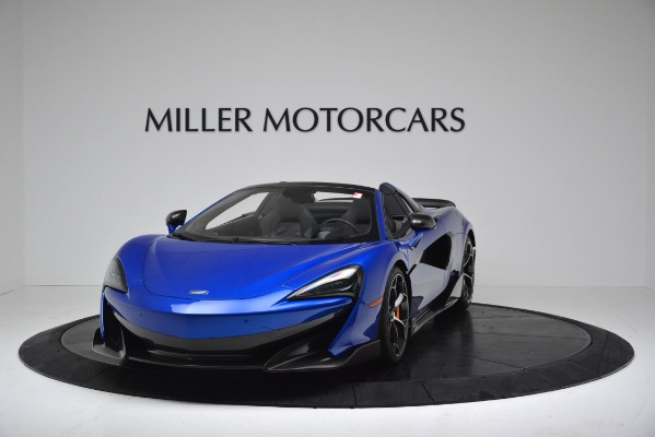 New 2020 McLaren 600LT SPIDER Convertible for sale Sold at Maserati of Westport in Westport CT 06880 2