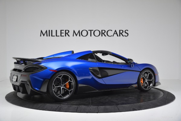New 2020 McLaren 600LT SPIDER Convertible for sale Sold at Maserati of Westport in Westport CT 06880 8