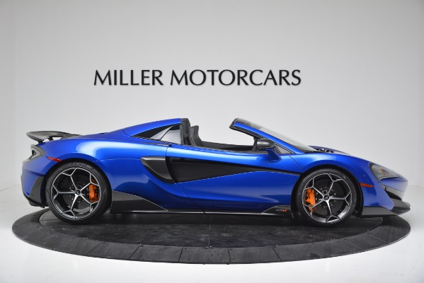 New 2020 McLaren 600LT SPIDER Convertible for sale Sold at Maserati of Westport in Westport CT 06880 9