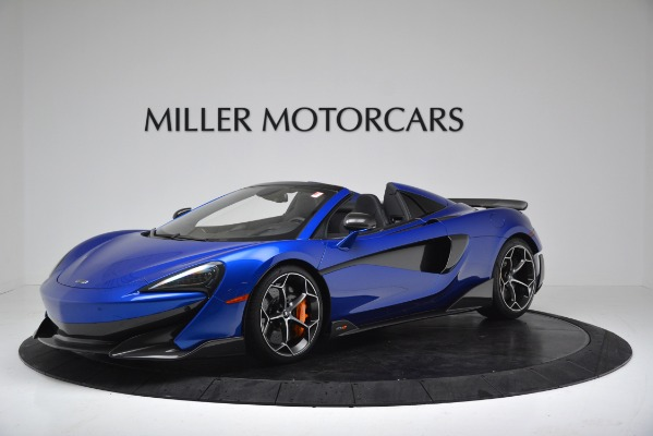 New 2020 McLaren 600LT SPIDER Convertible for sale Sold at Maserati of Westport in Westport CT 06880 1