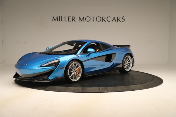 New 2020 McLaren 600LT SPIDER Convertible for sale Sold at Maserati of Westport in Westport CT 06880 10