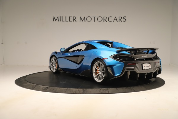 New 2020 McLaren 600LT SPIDER Convertible for sale Sold at Maserati of Westport in Westport CT 06880 12