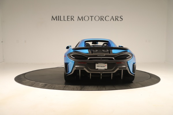 New 2020 McLaren 600LT SPIDER Convertible for sale Sold at Maserati of Westport in Westport CT 06880 13