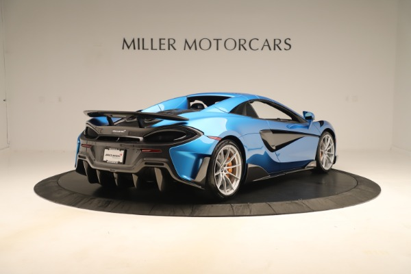 New 2020 McLaren 600LT SPIDER Convertible for sale Sold at Maserati of Westport in Westport CT 06880 14