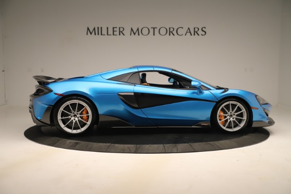 New 2020 McLaren 600LT SPIDER Convertible for sale Sold at Maserati of Westport in Westport CT 06880 15