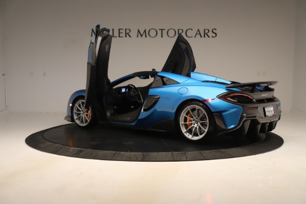New 2020 McLaren 600LT SPIDER Convertible for sale Sold at Maserati of Westport in Westport CT 06880 20