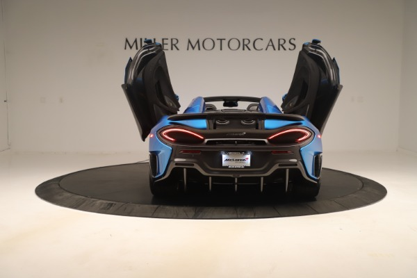 New 2020 McLaren 600LT SPIDER Convertible for sale Sold at Maserati of Westport in Westport CT 06880 21