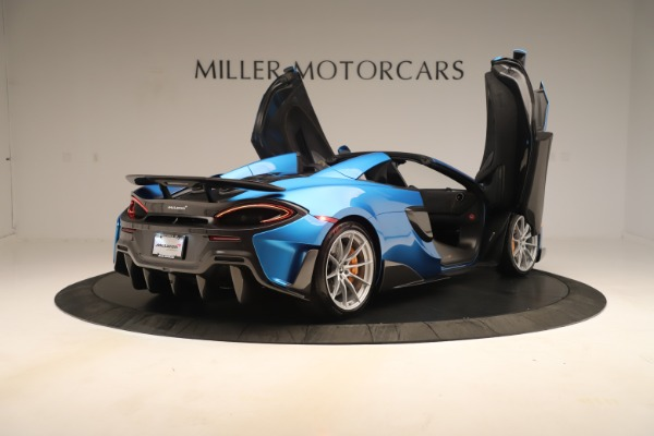 New 2020 McLaren 600LT SPIDER Convertible for sale Sold at Maserati of Westport in Westport CT 06880 22
