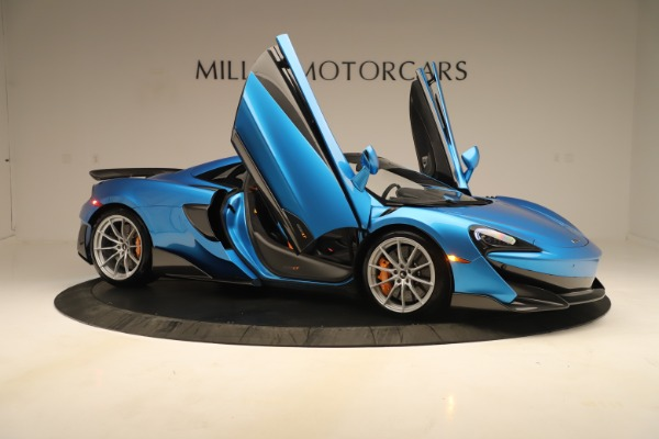 New 2020 McLaren 600LT SPIDER Convertible for sale Sold at Maserati of Westport in Westport CT 06880 24