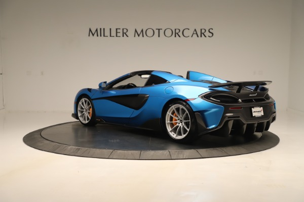 New 2020 McLaren 600LT SPIDER Convertible for sale Sold at Maserati of Westport in Westport CT 06880 3