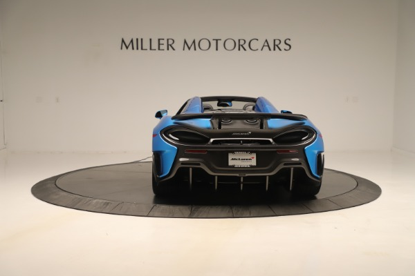 New 2020 McLaren 600LT SPIDER Convertible for sale Sold at Maserati of Westport in Westport CT 06880 4