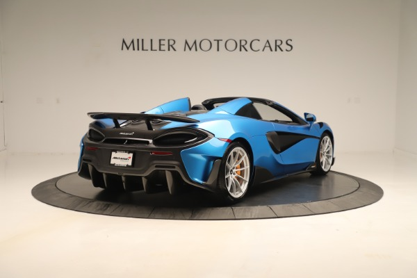 New 2020 McLaren 600LT SPIDER Convertible for sale Sold at Maserati of Westport in Westport CT 06880 5