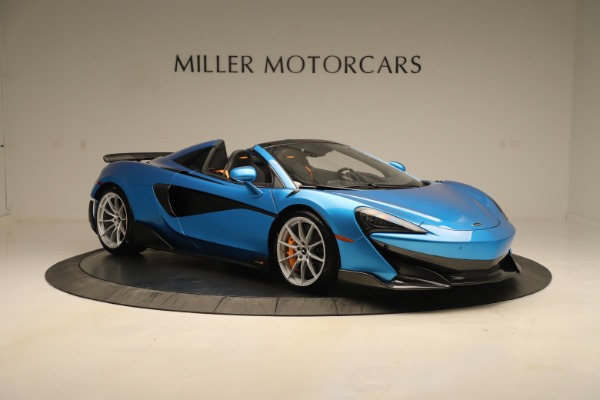 New 2020 McLaren 600LT SPIDER Convertible for sale Sold at Maserati of Westport in Westport CT 06880 7