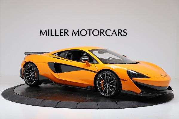 New 2019 McLaren 600LT Coupe for sale $279,310 at Maserati of Westport in Westport CT 06880 10