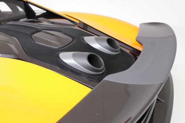 New 2019 McLaren 600LT Coupe for sale $279,310 at Maserati of Westport in Westport CT 06880 22