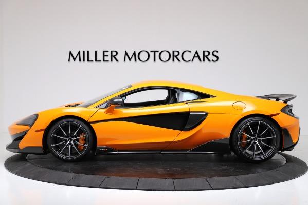 New 2019 McLaren 600LT Coupe for sale $279,310 at Maserati of Westport in Westport CT 06880 3
