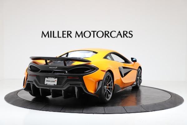 New 2019 McLaren 600LT Coupe for sale $279,310 at Maserati of Westport in Westport CT 06880 7