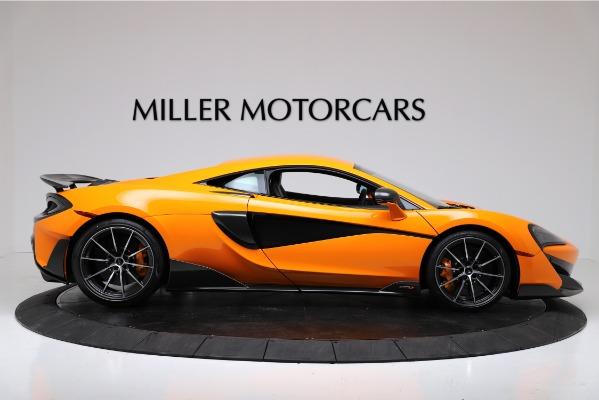 New 2019 McLaren 600LT Coupe for sale $279,310 at Maserati of Westport in Westport CT 06880 9