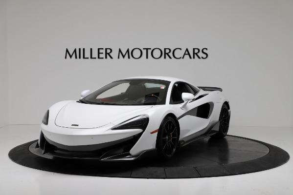New 2020 McLaren 600LT Convertible for sale Sold at Maserati of Westport in Westport CT 06880 13