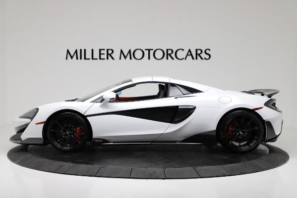 New 2020 McLaren 600LT Convertible for sale Sold at Maserati of Westport in Westport CT 06880 14